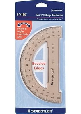 Staedtler Protractor Tinted 6 Inch