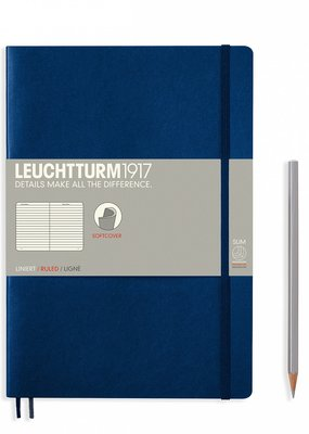 Leuchtturm Leuchtturm Softcover Composition B5 Ruled