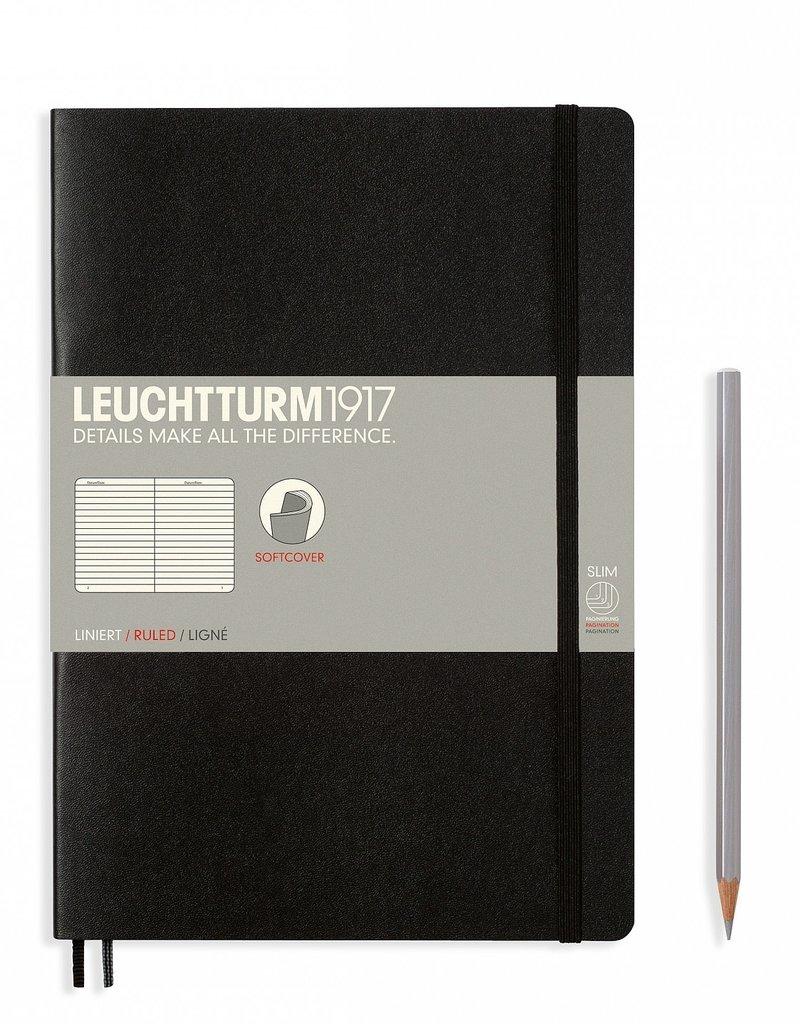 Leuchtturm Leuchtturm Softcover Composition B5 Ruled