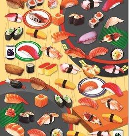 Stickers Sushi Flat