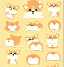Sticker Corgi