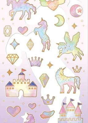 Sticker Rainbow Unicorn