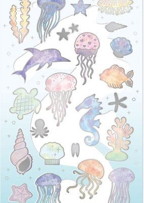 Sticker Rainbow Sea Animal