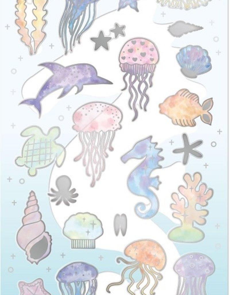 Sticker Rainbow Sea Animal