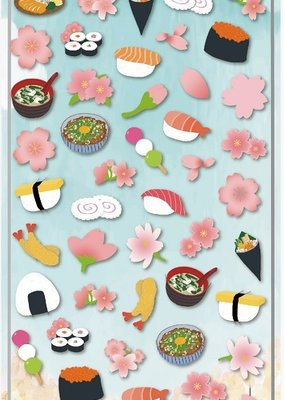 Stickers Sakura Sushi