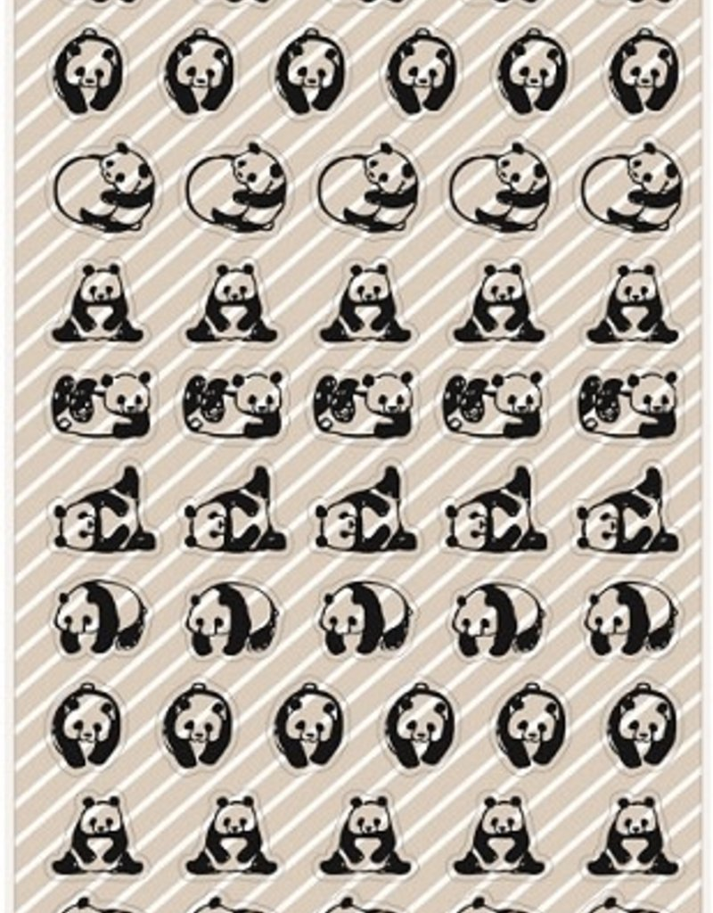 Sticker Panda Clear