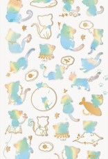 Sticker Rainbow Cat 2