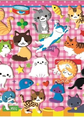 Stickers Puffy Cat