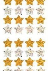 Jillson & Roberts Prismatic Stars Gold & Silver