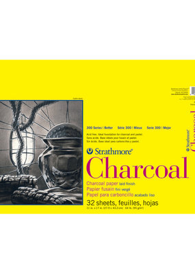 Strathmore Strathmore Charcoal Paper Pad 300 Series Spiral Bound 11 x 17 Inch