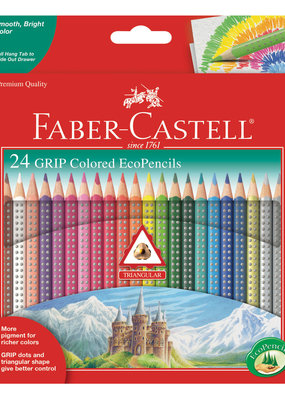 Faber-Castell Grip Color Ecopencils 24 Count