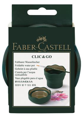 Faber-Castell Clic & Go Water Pot Green