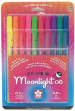 Sakura Gelly Roll Moonlight Fine Set of 10