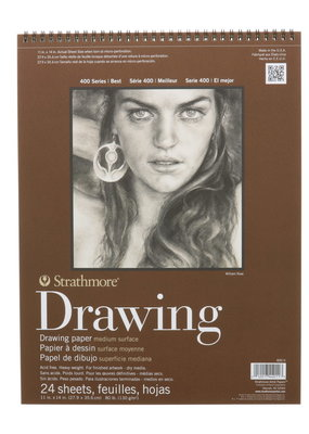 Strathmore Strathmore Drawing Paper Pad 400 Series 11 x 14 Inch