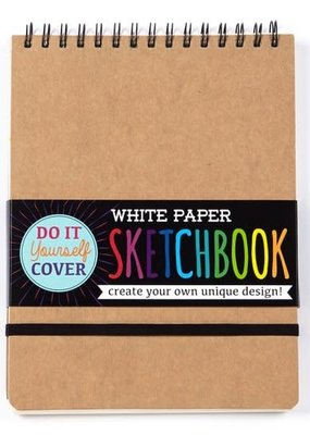 Ooly DIY Cover Sketchbook White Small