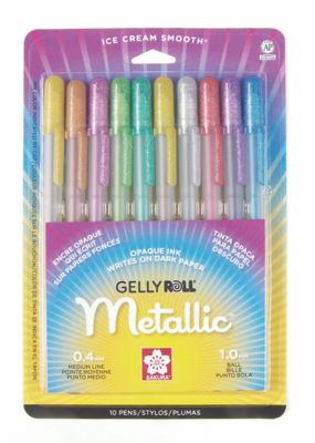 Sakura Gelly Roll Metallic Set 10 Color