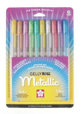 Sakura Gelly Roll Metallic Set 10 Colors