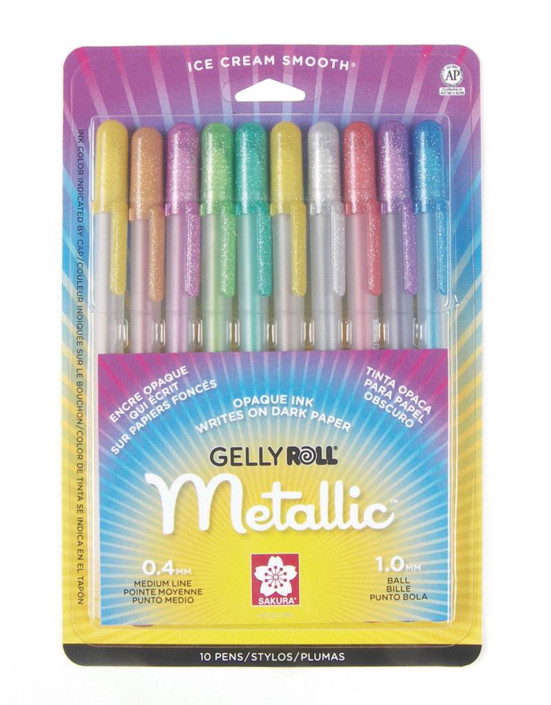 Sakura Gelly Roll Metallic Set 10 Color
