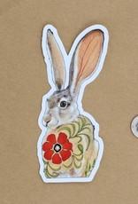 Amy Rose Moore Illustration Sticker Jackrabbit