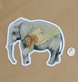 Amy Rose Moore Illustration Sticker Elephant v. 2