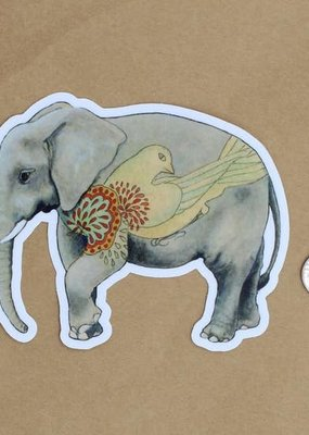 Amy Rose Moore Illustration Sticker Elephant v. 2