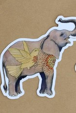 Amy Rose Moore Illustration Sticker Elephant v. 1