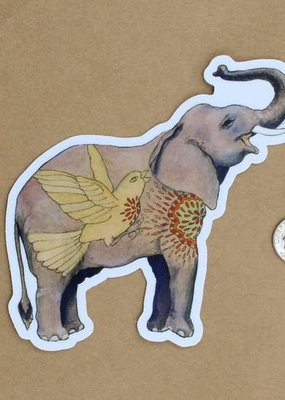 Amy Rose Moore Illustration Sticker Elephant v. 1