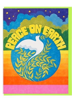 Lucky Horse Press Card Peace On Earth Dove
