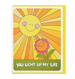 Lucky Horse Press Card You Light Up My Life