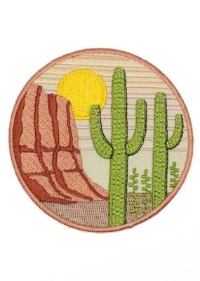 Lucky Horse Press Patch Saguaro