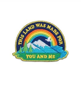 Lucky Horse Press Patch This Land Is Your Land