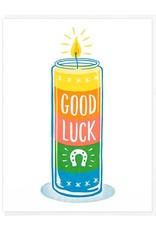 Lucky Horse Press Card Good Luck Votive Candle