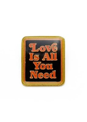 Lucky Horse Press Enamel Pin Love Is All You Need