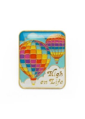 Lucky Horse Press Enamel Pin High Of Life