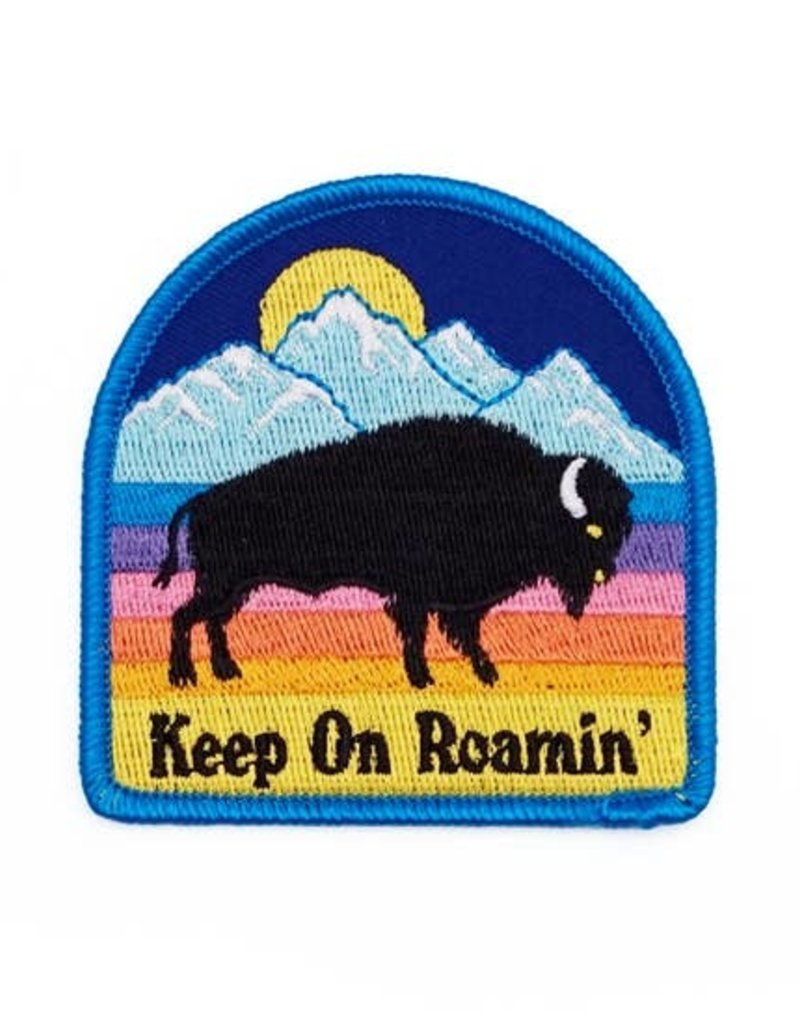 Lucky Horse Press Patch Bison