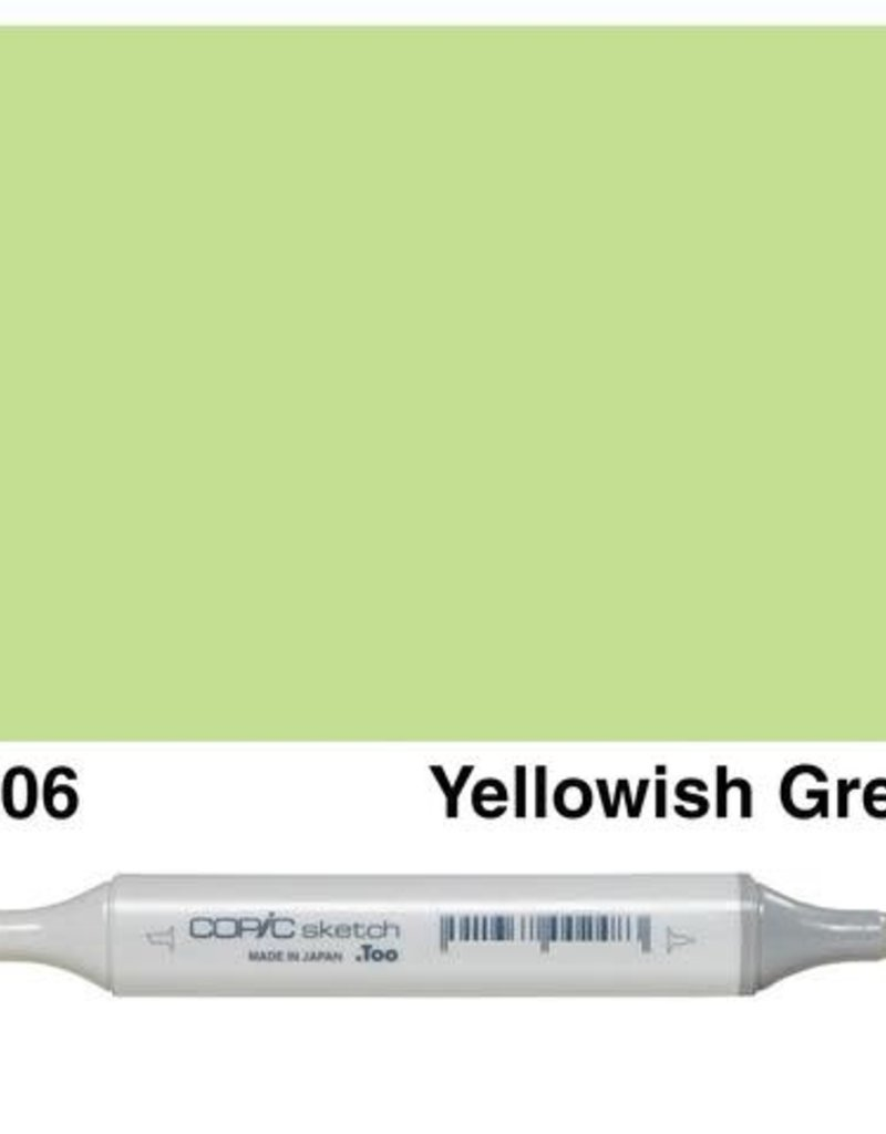 Copic Copic Sketch Yellow Greens