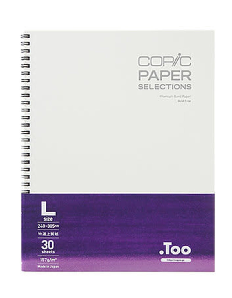 Copic Copic Wire Bound Sketch Book Large 9 x 12