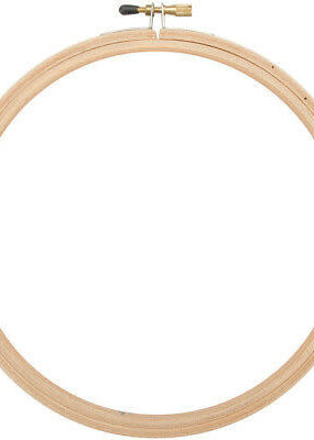 collage Rounded Edge Embroidery Hoop 7""