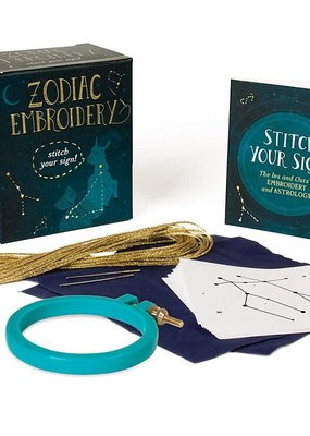 Running Press Zodiac Embroidery: Stitch Your Sign!