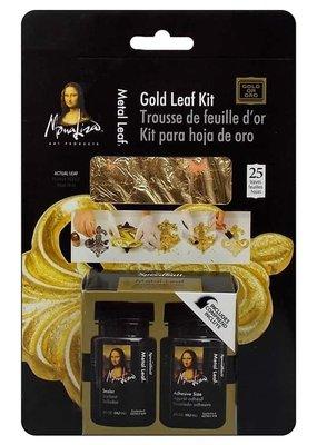 Mona Lisa Metal Leafing Kit Gold