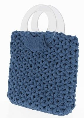 Hoooked Crochet Kit Marbella Bag Riverside Jeans