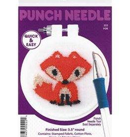 Design Works Crafts Inc. Design Works Punch Needle Kit Fox