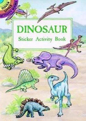 Dover Activity Sticker Book Dinosaur