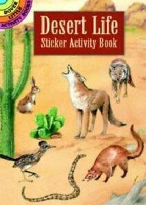 Dover Activity Sticker Book Desert Life
