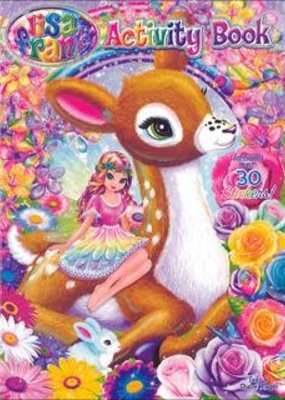 Activity Sticker Book Lisa Frank