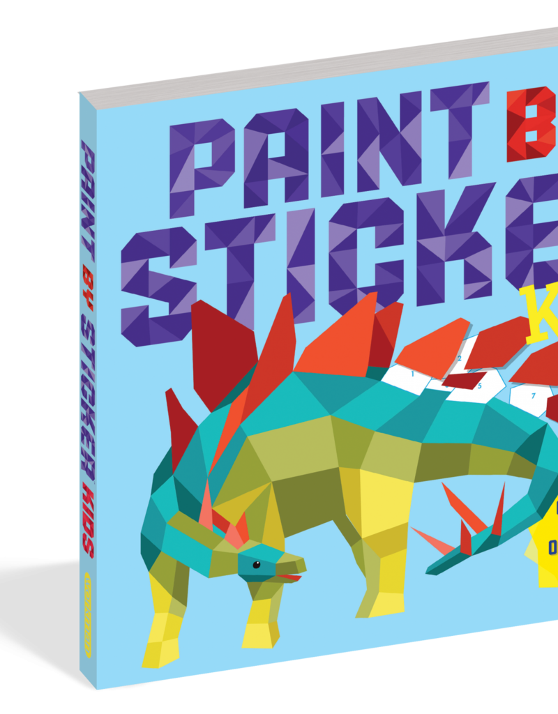 Workman Paint By Sticker Kids