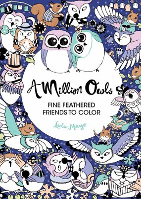 Sterling Coloring Book A Million Owls