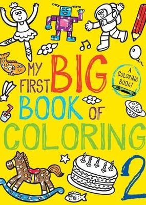 Simon & Schuster My First Big Book of Coloring 2