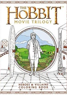 Harper Collins Hobbit Movie Trilogy Coloring Book