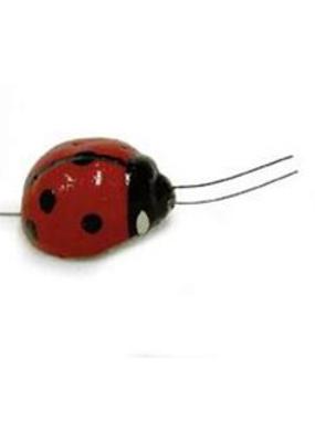 Midwest Design Ladybug .75 Inch 4 Pack